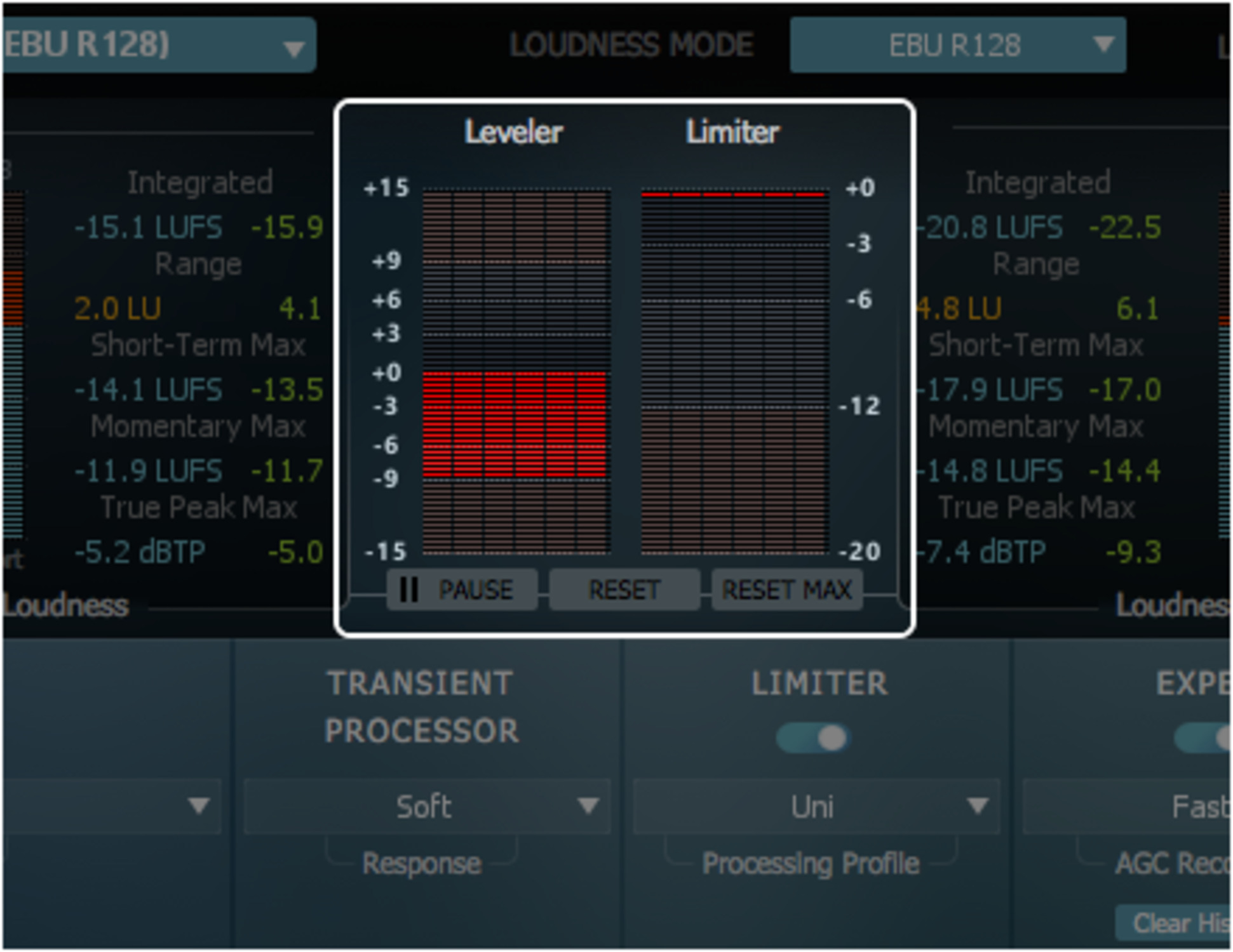 Loudness Metering