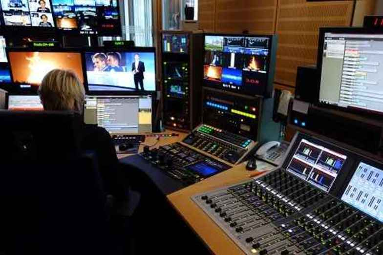 "SMART AUDIO: Fully Automated Show  ARD's ""Tagesschau"" (Picture: Control Room)"