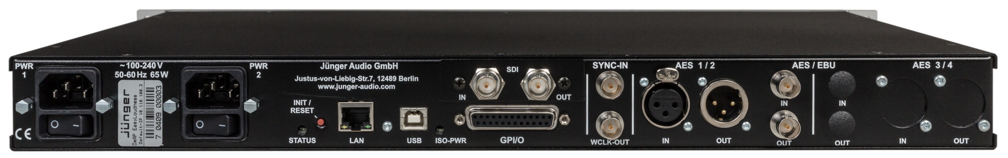EASY LOUDNESS SDI (rear view)
