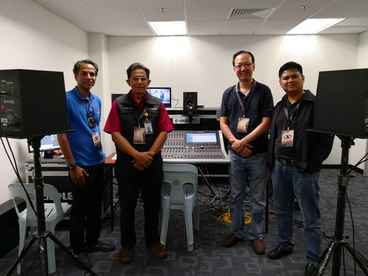 Muhammad Nur Azrin -  Senior Audio Director,  Dr. Ahmad Zaki - Group General Manager Engineering,  David Chan  and  Azhar Abdul Latiff  - JAAS